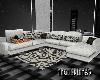 Light Gray Linen L-Couch