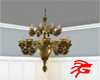 Grand Brass Chandelier