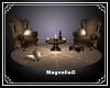 ~MG~ WingBack Chair Set