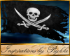 I~Pirate Ship Flag