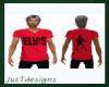 JT Elvis Tee Red