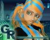 -gR- Chiyo Cyan/Orange