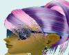 pink purple bangs