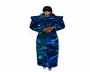 !Xtr!Blu Paisley Robe