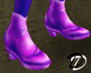 Iridescent shoe(pnk/prp)