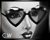 !C PVC Heart Glasses
