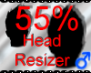 *M* Head Resizer 55%