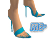 MB- Turquoise Pumps
