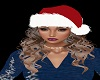 Melissa Blonde Santa