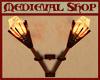 Medieval Torches w/Sound