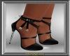Black & Silver Stilettos