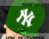 -USK-GREEN NY FITTED
