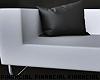 Modern White Couch