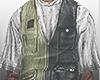 """S Two Tone Vest"