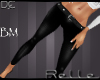 !! Black Leather Pant BM