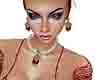zamira jewels set red