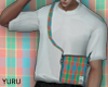 YURU check bag