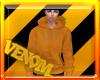 {VM}Hoodie Orange
