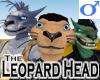 Leopard Head -Mens