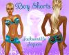 ~LB~Boy Shorts - Jaguars