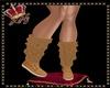 llKNZ*Leg Warmer Camel