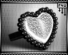 -P- Plated Heart Ring /L