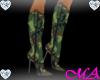 !MA! Camo Cowboy Boots