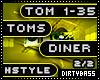 2 Toms Diner Hardstyle