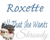 ~Roxette All She Wants~