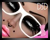 {DSD} Pink Bow Glasses