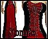 medieval redblk gown