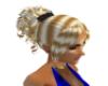 [M]Blonde w Blk Hclip