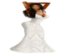 Lace White Gown