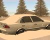 Winter Snow Car