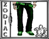 Green Emo Jeans