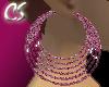 6Hoops - Pink Shimmer