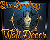 [M] Blue S Wall Decor