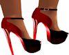 MB Red N Black Shoes