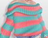 K|OversizeStripeSweater2