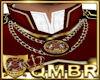 QMBR TBRD Crest Necklace
