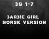 Barbie girl norsk