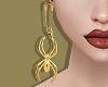 Spider Pin Earrings