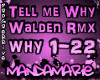 Tell Me Why - Walden Rmx