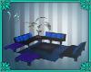(IS) Blue Living Room Se