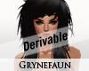 Derivable long hair 20