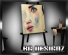 [BGD]Artist Easel Anim.