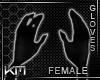 +KM+ Gloves Back