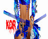 {KDR} blue rave sticks
