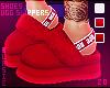 в. UGG Slippers Red