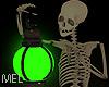 Mel*Skull Lamp Green